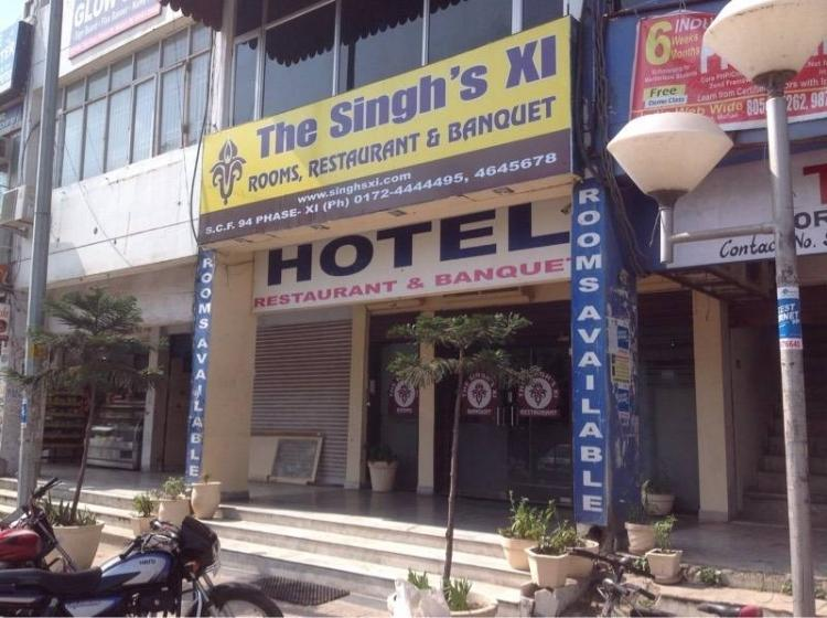The Singh XI Hotel Chandigarh